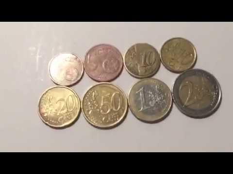 Cuánto valen las monedas del euro y de que están hechas