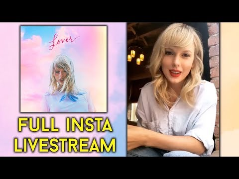 Taylor Swift's FULL Instagram LIVE Announcement