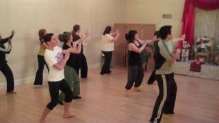 Rhythms of India - beginner bhangra practice - SHC 2010-05-03