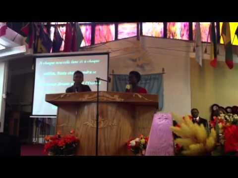 Peniel SDA Church with Health Coach Mericia Appolon