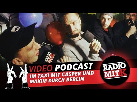 Kraftklub Jahresabschlussgala-Taxi mit Casper und Maxim -  Radio mit K Episode 20 Full