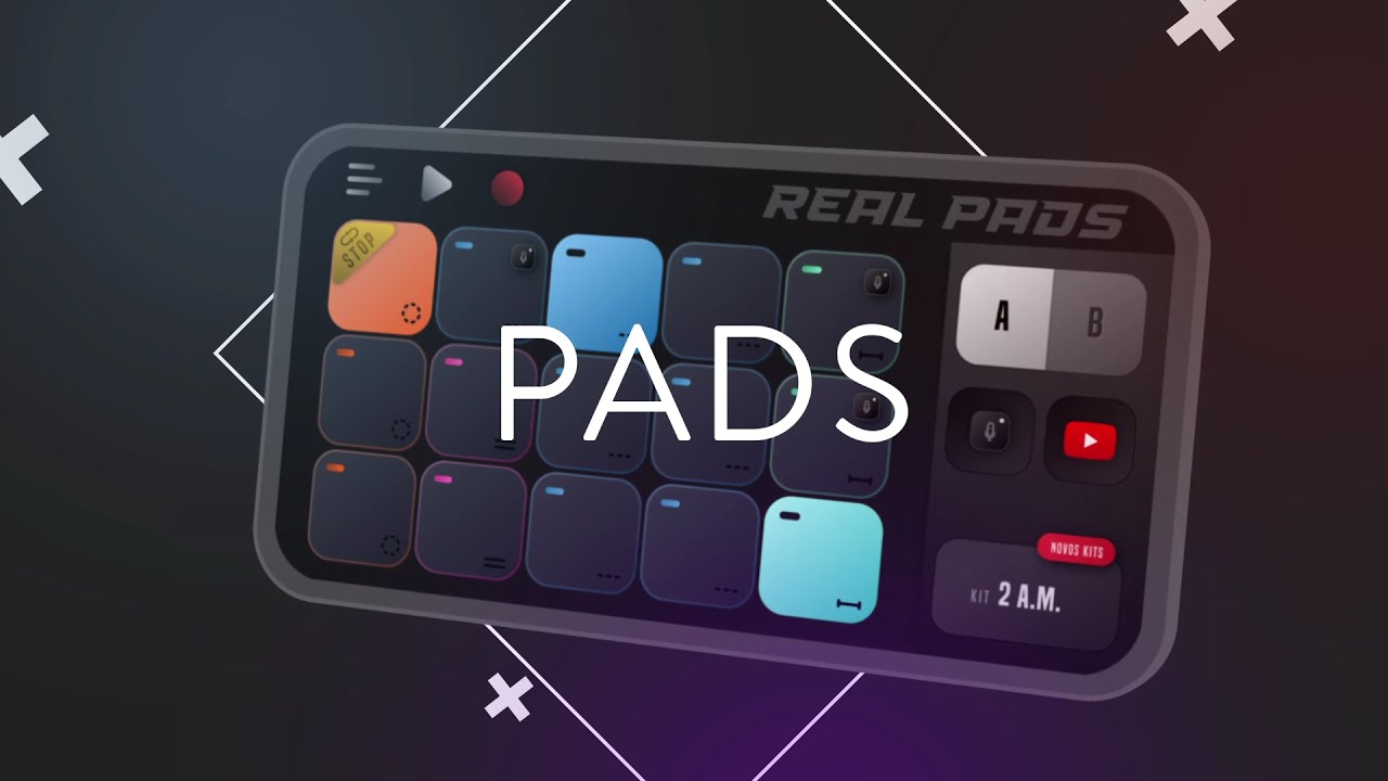 REAL PADS: Become a DJ of Drum Pads