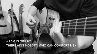 Misery - Maroon5 (Acoustic guitar cover karaoke)