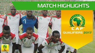 Burkina Faso vs Uganda | Africa Cup of Nations Qualifiers 2017