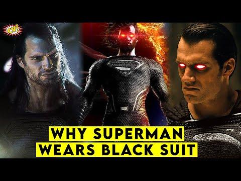 Why Superman Wears A Black Suit Explained || ComicVerse