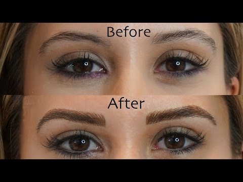 Microblading Eyebrows- See My Before and After Results