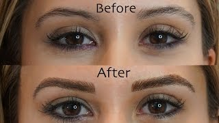 Microblading Eyebrows- See My Before and After Results!