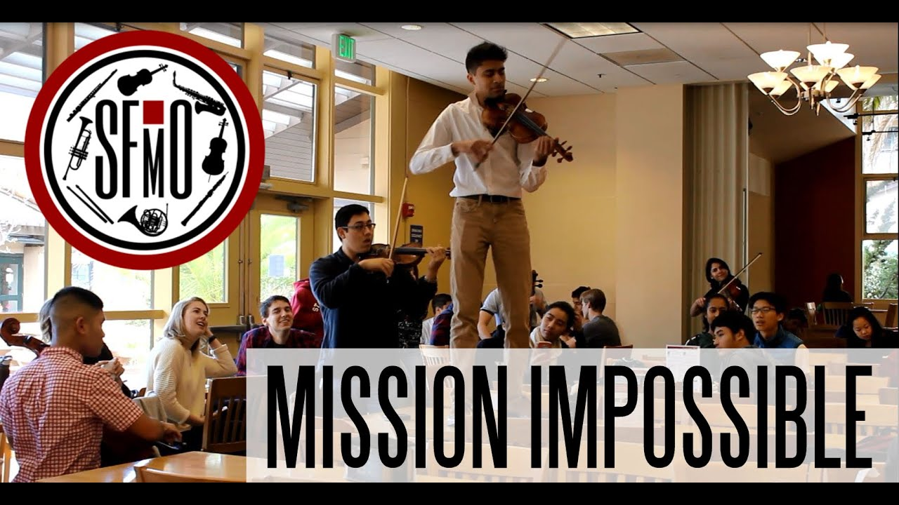Mission Impossible Theme - Stanford Flashmob Orchestra