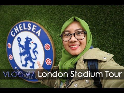 GEEVLOG #7 - Ngintip Stadion Arsenal Dan Chelsea FC Langsung!