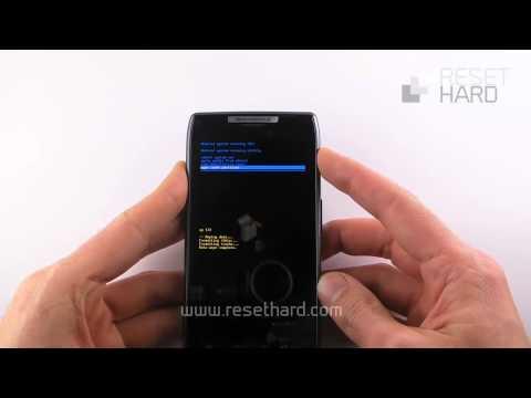How To Hard Reset Motorola Razr