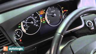 BMW 5 Series F10   Instrument Cluster Self test system test HD