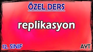 3) Replikasyon - Özel Ders (12. Sınıf)