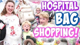 Shopping for Our Hospital Bag - Pregnant w/ Baby #5!