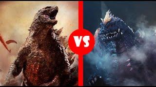 Godzilla (2014) vs SpaceGodzilla