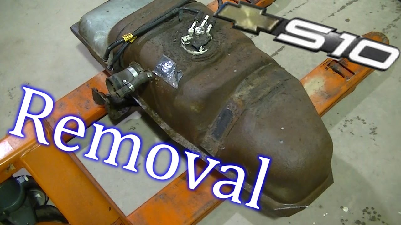 2001 S10 Fuel Tank Removal  YouTube