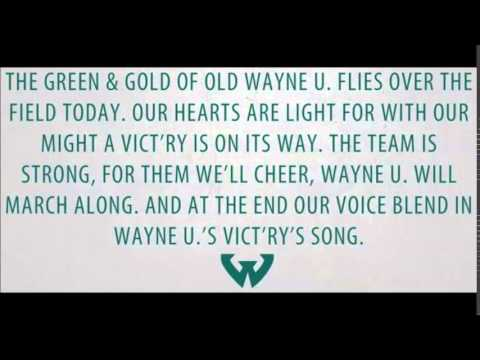 Wayne State - Fight Song