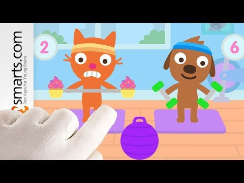 Play and Count with Jinja and Harvey in the new Sago Mini Kids Game!