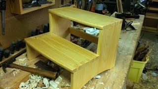 Dovetailed Step Stool   Part 3