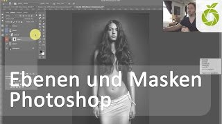 Ebenen und Masken Photoshop Tutorial | Endlich verstehen!