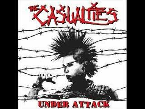 The Casualties - Under Attack - Social Outcast