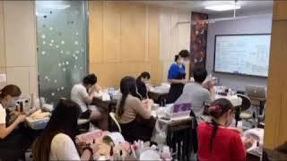 네일아트국가자격증 수업