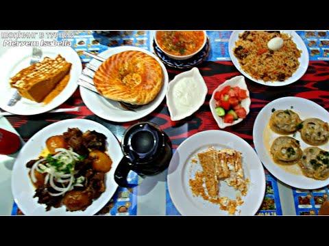 Самый дешёвый обед в Стамбуле 7 блюд за 1391 рубль. Узбекский ресторан в Турции. Влог из Турции.