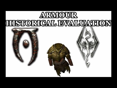 Armour Historical Evaluation In Skyrim And Oblivion