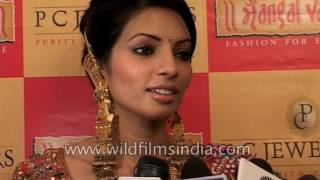 TV actress Shama Sikander speaks about jewellery