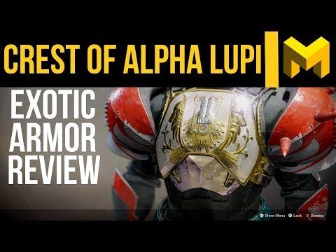 Destiny 2 Crest Of Alpha Lupi Exotic Review