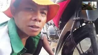Cara Mengganti Kampas Rem Cakram Depan Pada Motor Revo