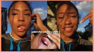 ROSE GOLD eyeshadow tutorial (+ glitter tears)