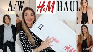 HUGE AUTUMN H&M HAUL AND TRY ON