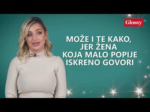 Glossy lično Maja Berović: Treba verovati ženi koja pije