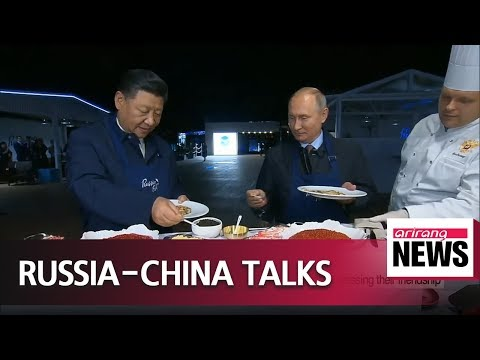 Leaders of Russia, China discuss bilateral ties, expressing their friendship