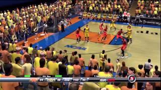 NCAA Final Four 2013 Overtime NCAA 2K8 Wichita(9) vs Louisville(1) & Michigan(4) vs Syracuse(4)