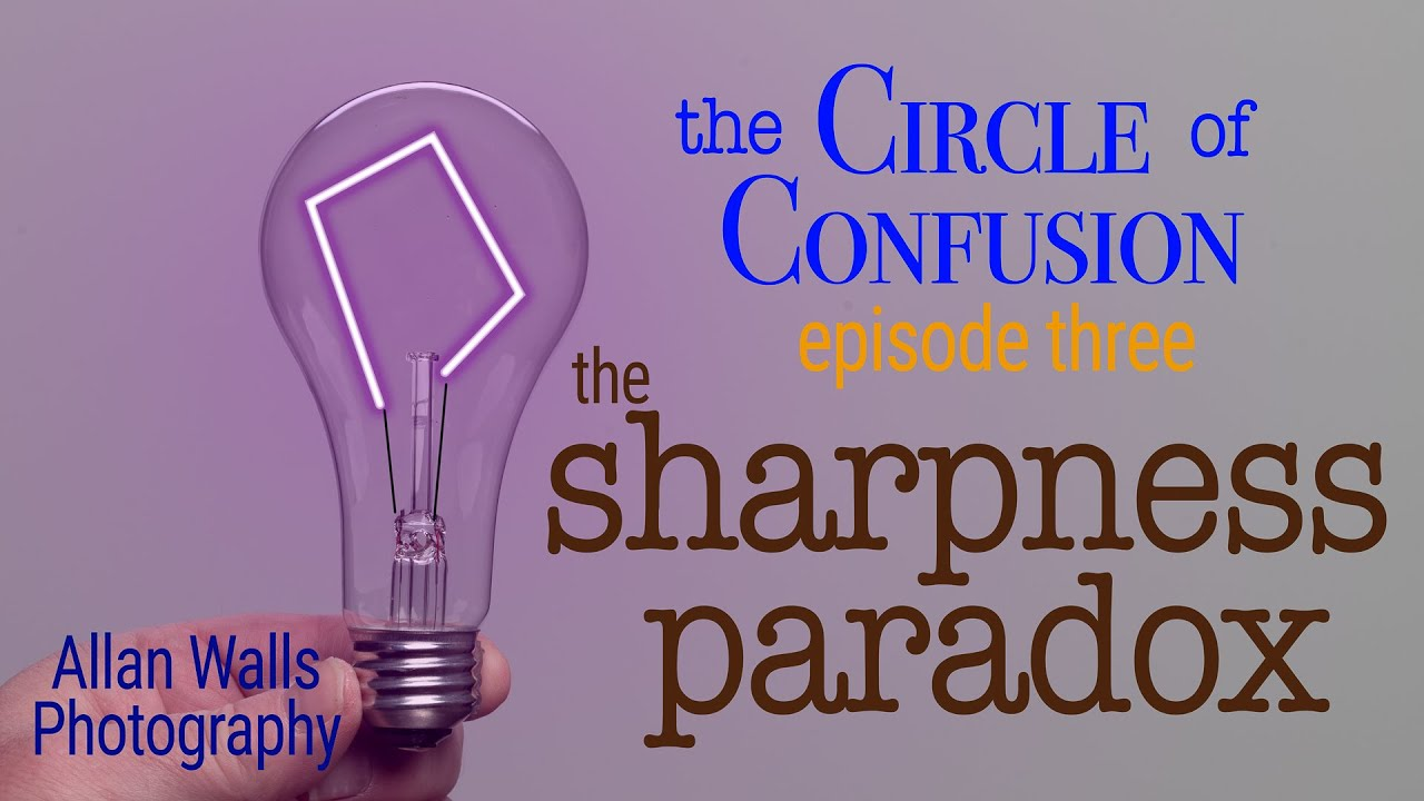 The Sharpness Paradox - Circle of Confusion #3