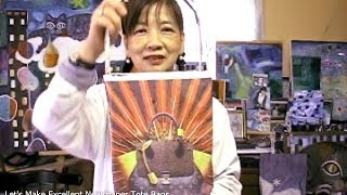 Gambar cover Yoko's Art Class - Let's Make Excellent Newspaper Tote Bags !