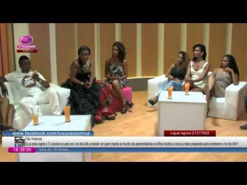 Inauguração da TV Sucesso em moçambique