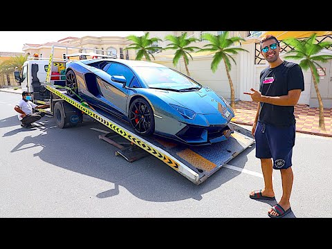 Taking Delivery of my Upgraded Lamborghini Aventador !!!