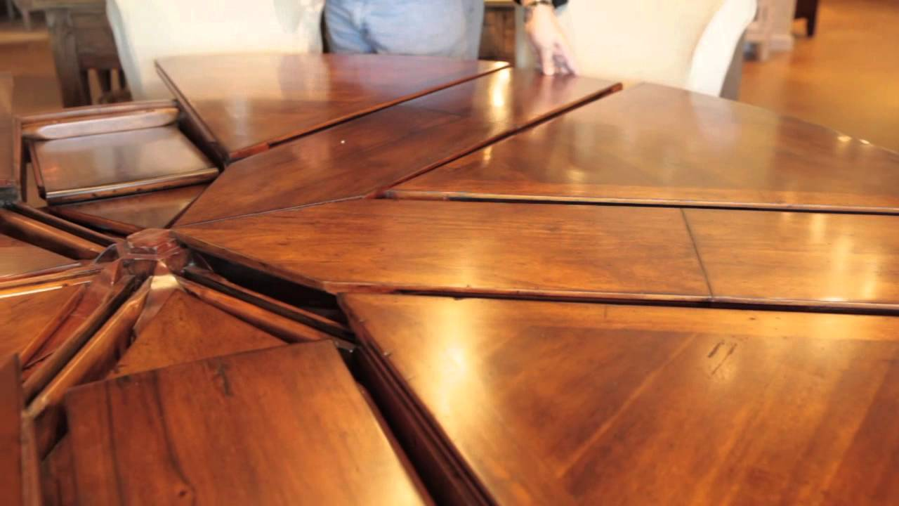 Expandable Circular Dining Table Expandable Circular Dining Table Available Now Youtube