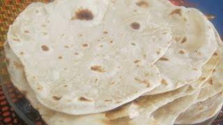 Chapati Recipe  - African flat bread recipe