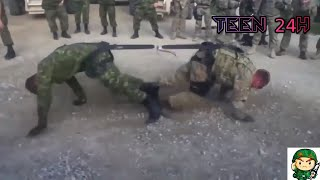 Những pha tai nạn hài hước trong quân đội mấy anh lính nhầy  nhất thế giới