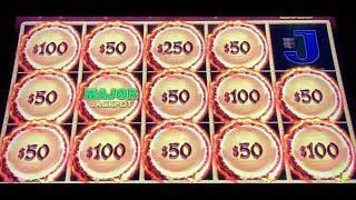 DRAGON LINK 🐲PANDA MAGIC & HAPPY PROSPEROUS (6) HANDPAYS 🐲$50 SPINS MAJOR JACKPOT 🐲MOHEGAN SUN
