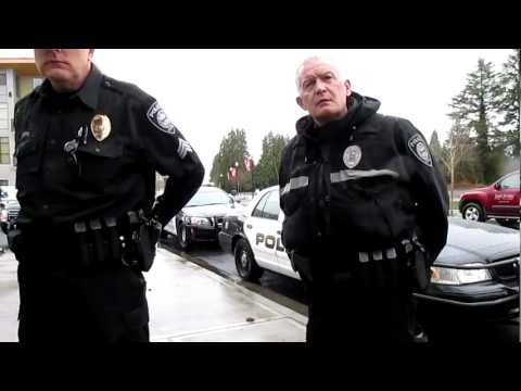 Gresham Oregon Police, Open Carry AR-15