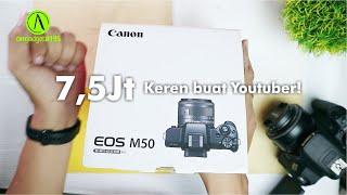 Unboxing CANON EOS M50 dan Cerita Gear Kamera andalan Channel Alisodik