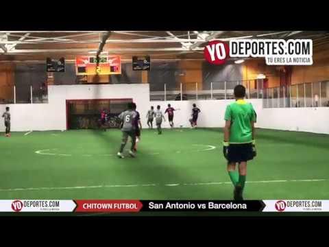 San Antonio 18- 1 Barcelona Chitown Futbol De Chicago Illinois