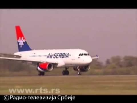 Probni let prvog aviona Air Serbia