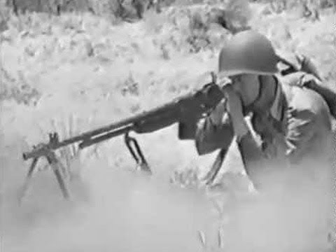 M1918 Browning Automatic Rifle (BAR) - YouTube