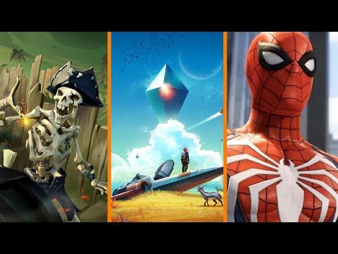 Sea of Thieves Hacked + No Man's Sky Returns + Spider-man PS4 Details WHEN?