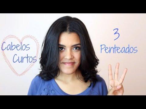 3 Penteados Fáceis Para Cabelo Curto